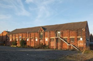 Radioactive Remedial Sites, Old Industrial Building