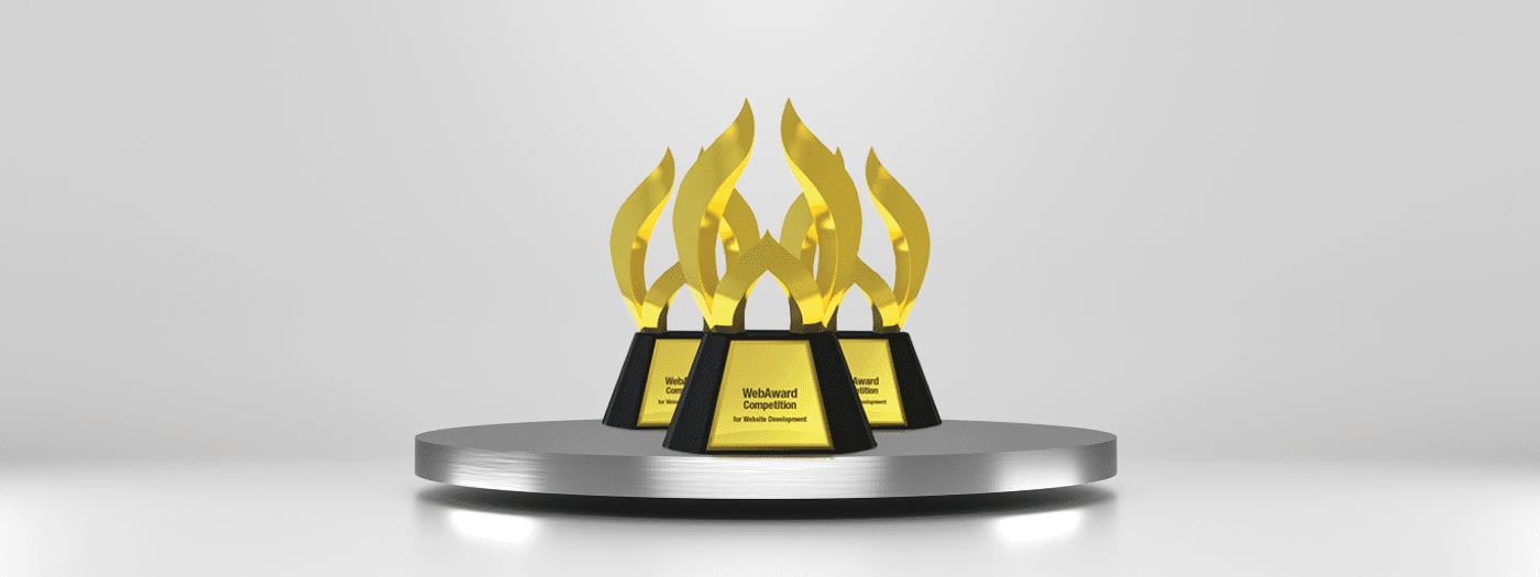 VERTEX Wins 2020 WebAward