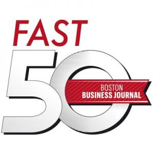 VERTEX awarded Boston Business Journal Fast 50 2016