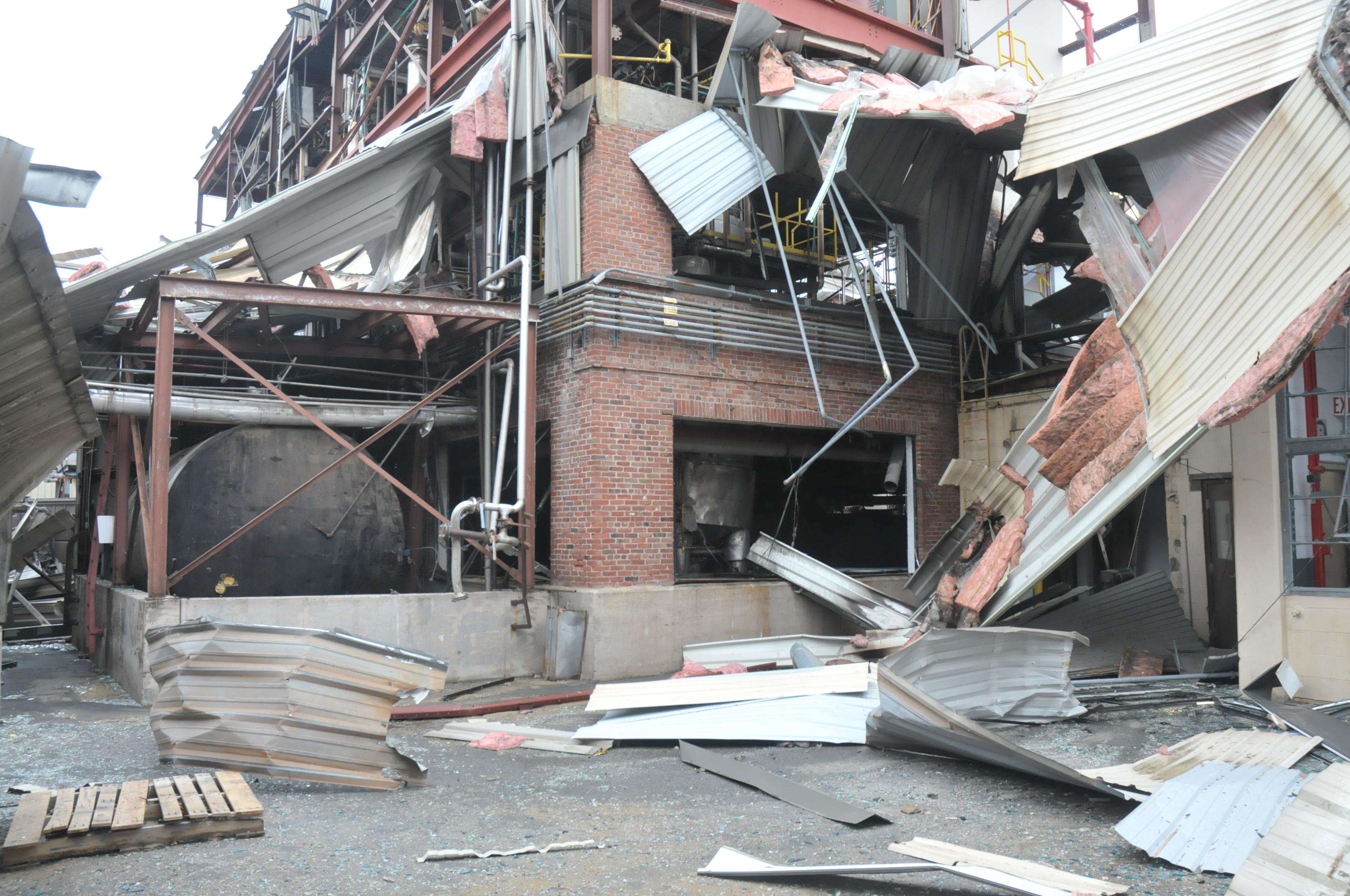 VERTEX, Fire Investigation, Explosion Claim