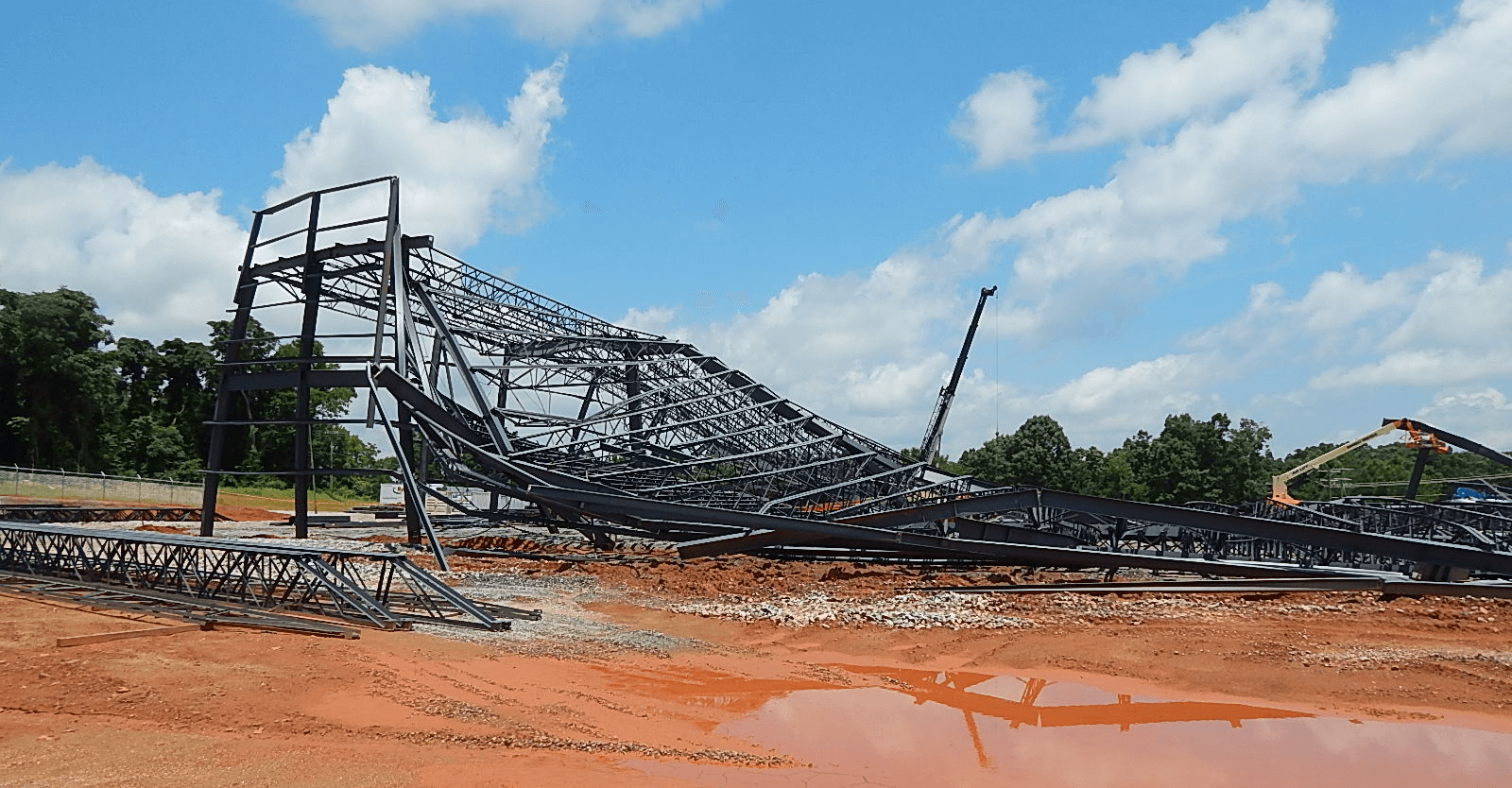 VERTEX, Forensic Construction Claims Consulting, Stage Collapse Construction Defect Claim