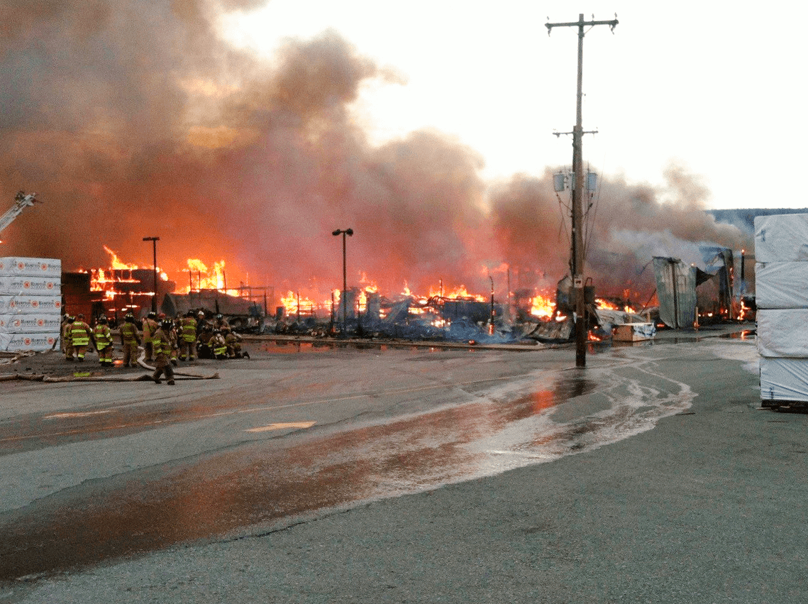 VERTEX At Fire Scene in Northeastern US
