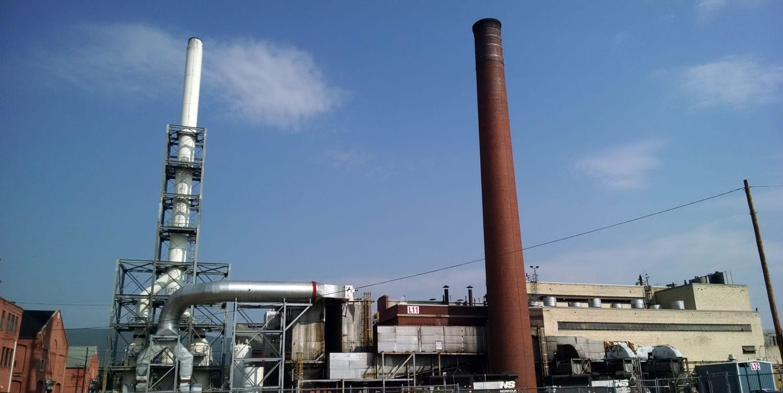 VERTEX, Environmental Remediation, Norfolk Southern Juniata Shops Demo Support 38386