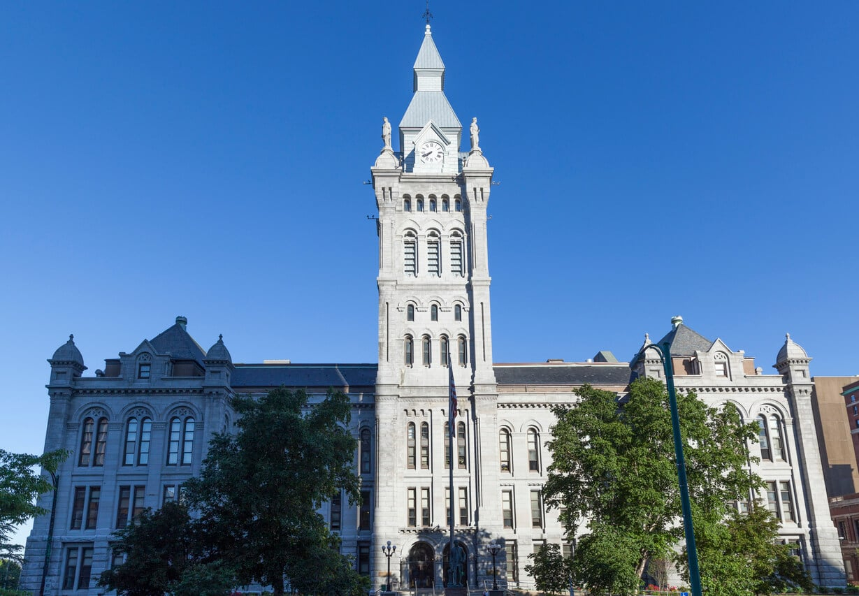 VERTEX, Forensic Consulting, Construction, Erie County Courts Exterior Renovations