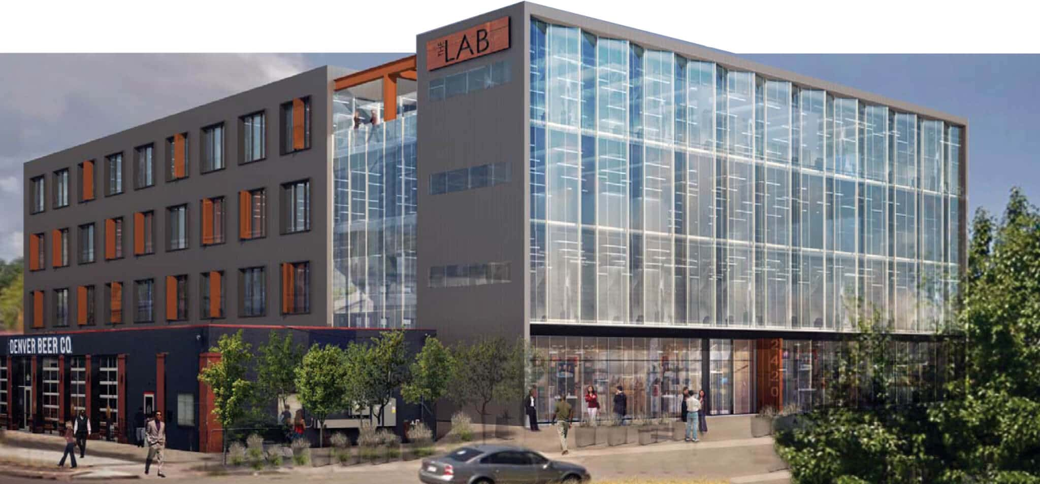 VERTEX, Industrial Property Redevelopment, The Lab, Denver Colorado