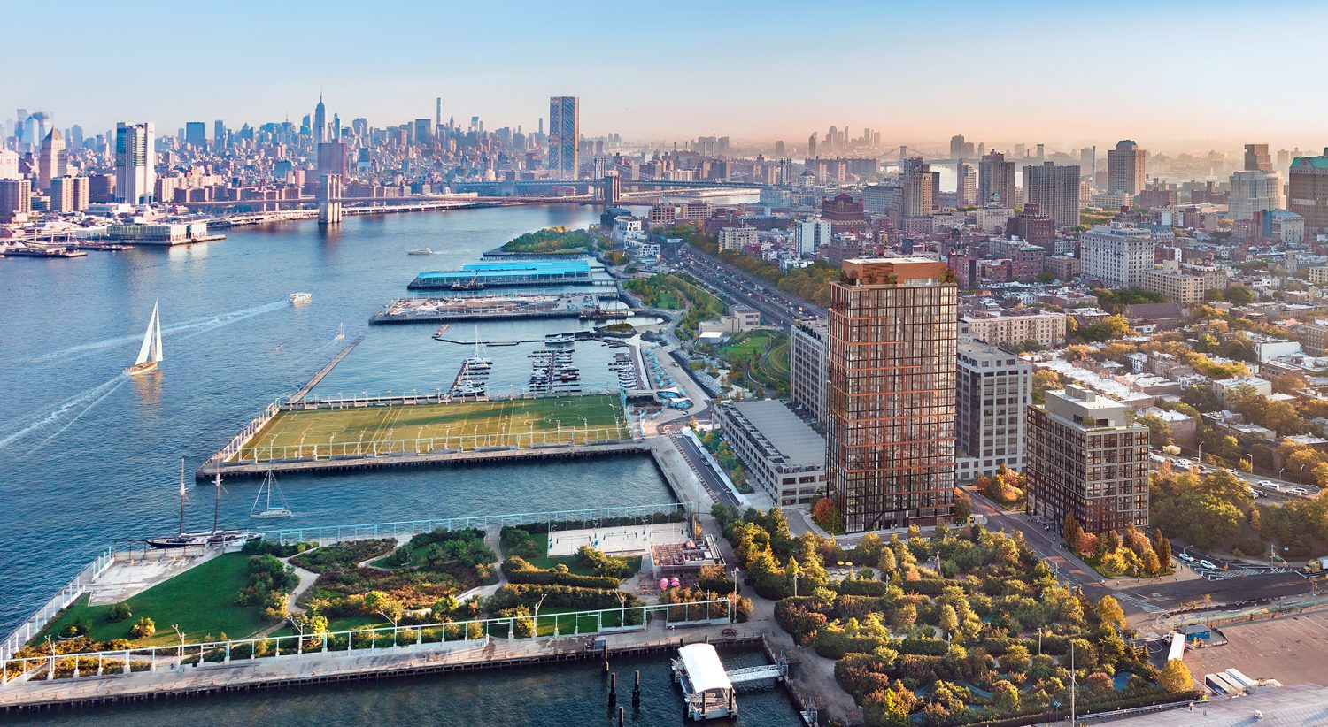 VERTEX Structural Engineering Design, Pier 6 Brooklyn Bridge Park Apartments