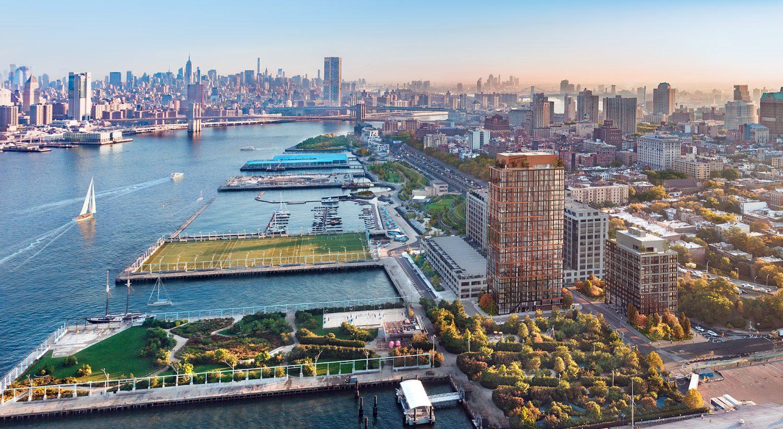 VERTEX Structural Engineering Design, Pier 6 Brooklyn Bridge Park Apartments