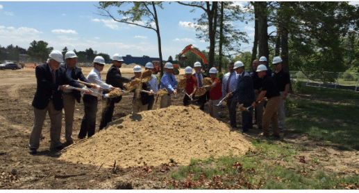 VERTEX Attends Groundbreaking Ceremony at Union Point, Weymouth Naval Air Station