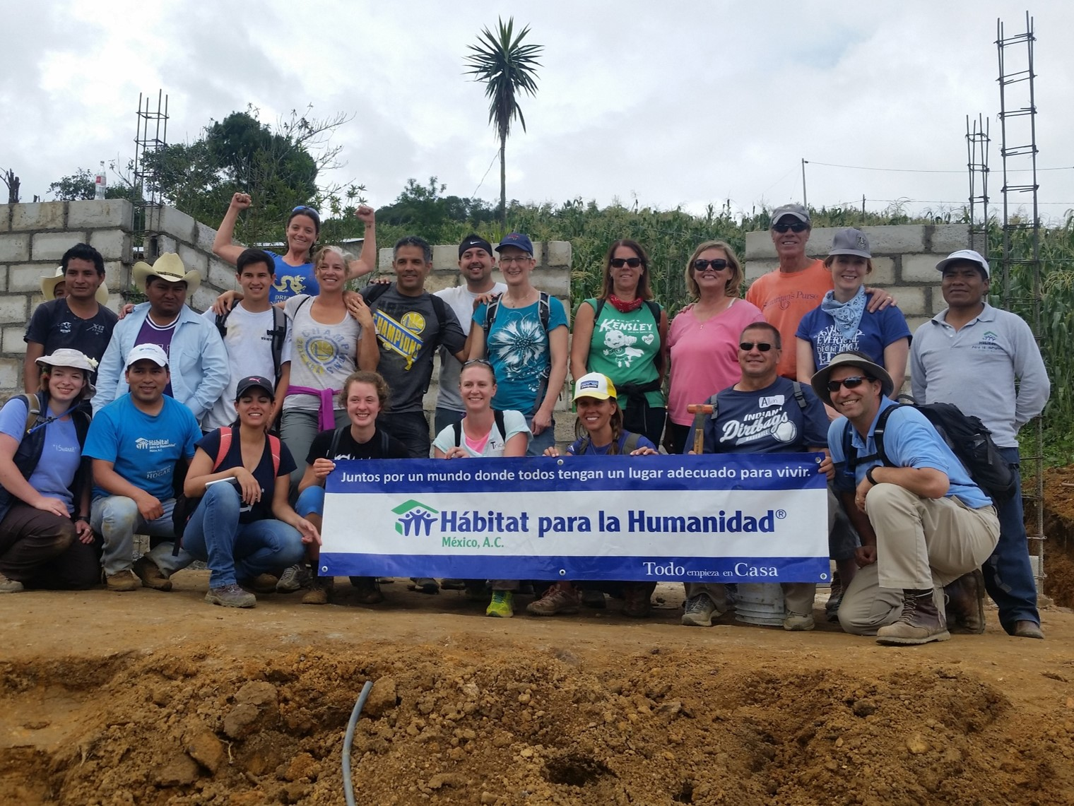 VERTEX with Habitat for Humanity Mexico in Chiapas