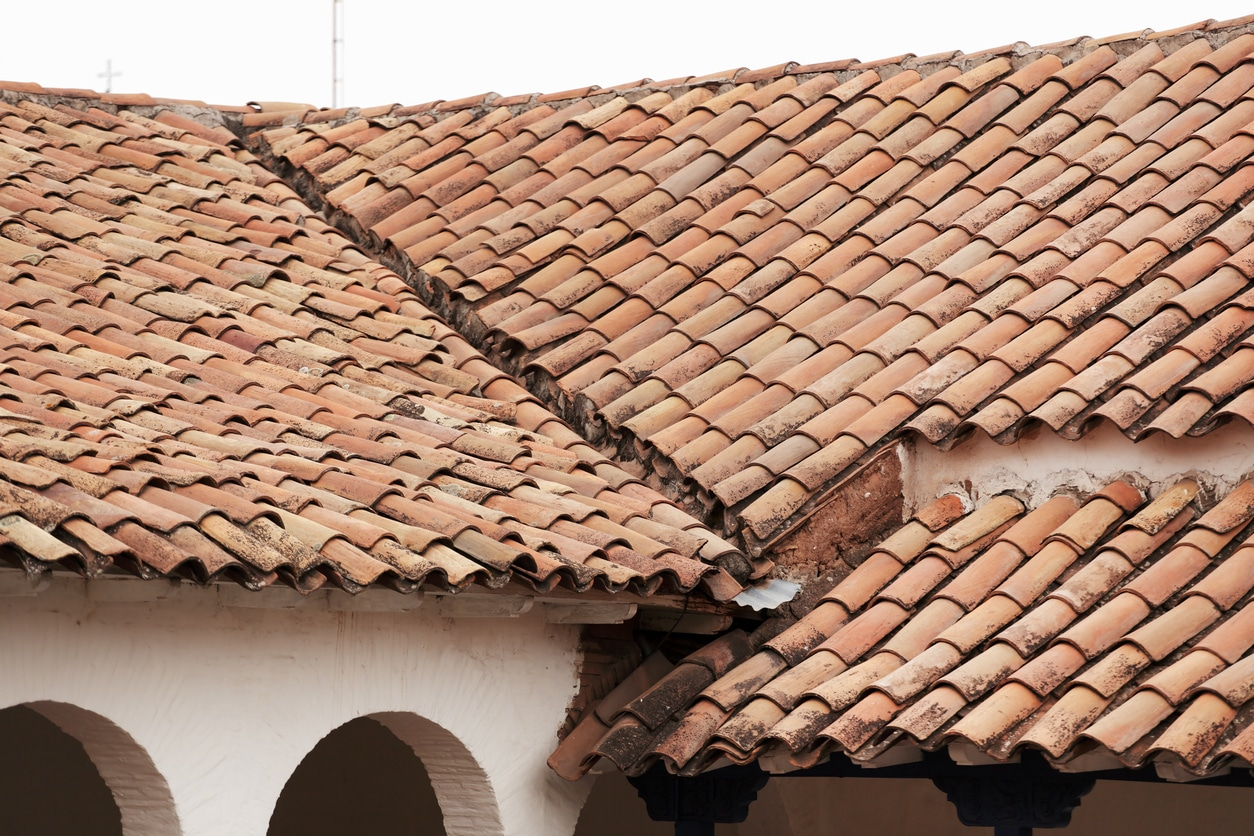 The vertex companies inc clay concrete roof tiles for Clay tile roofs