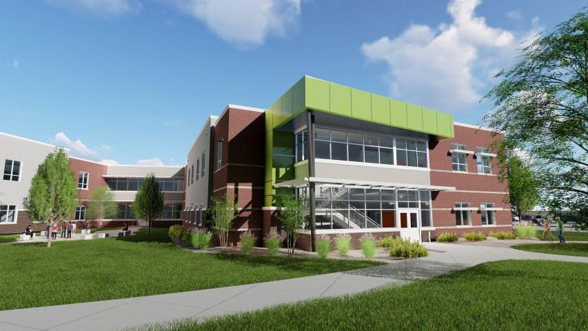 VERTEX, Structural Engineering, Groff High School, Denver Colorado