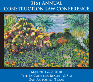 VERTEX Exhibiting at the 31st Annual Texas Construction Law Conference