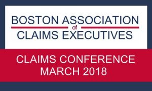 VERTEX's Brendan Phelan Presenting at BACE Claims Conference, March 2018