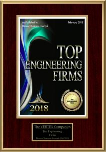 Denver Business JournalAwards VERTEX as a Top Engineering Firm