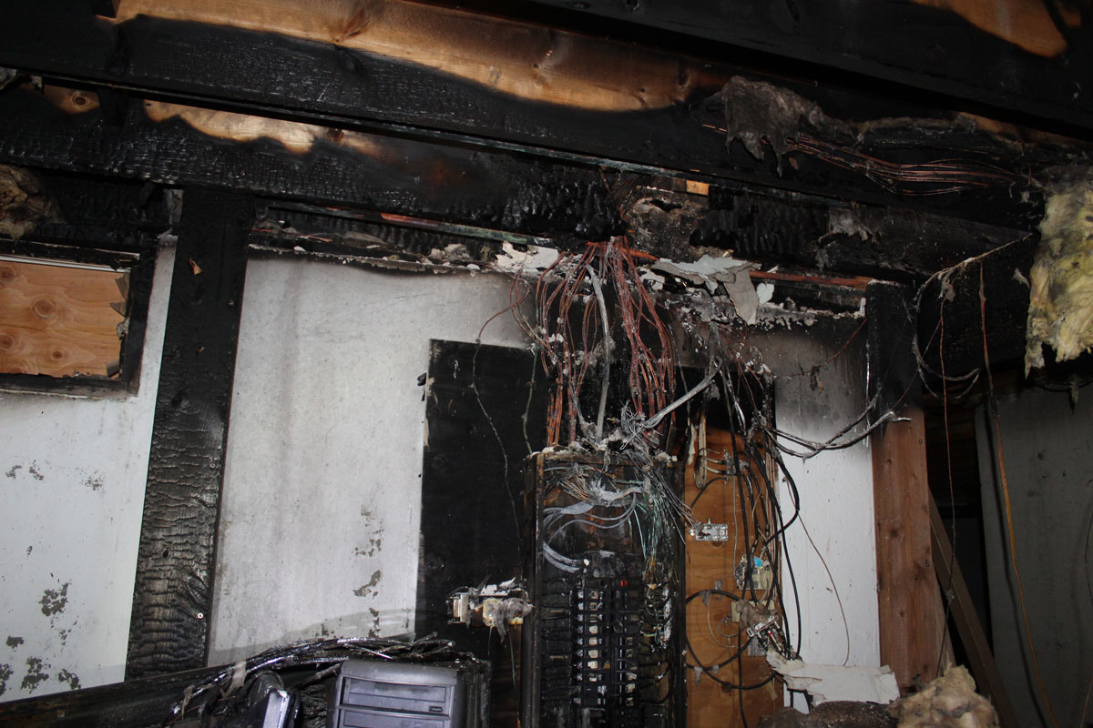VERTEX, Electrical Panel Failure and Fire, 49084
