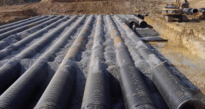 High Density Polyethylene (HDPE) Pipe System