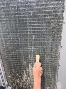 VERTEX, HVAC Condenser Coil Hail Damage