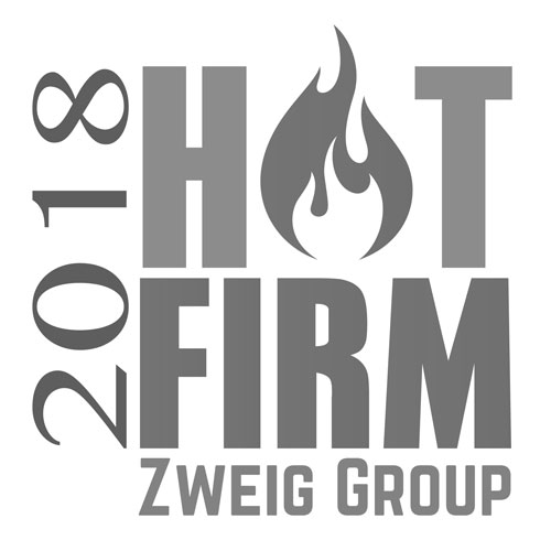 VERTEX Awarded 2018 Hot Firm by Zweig Group