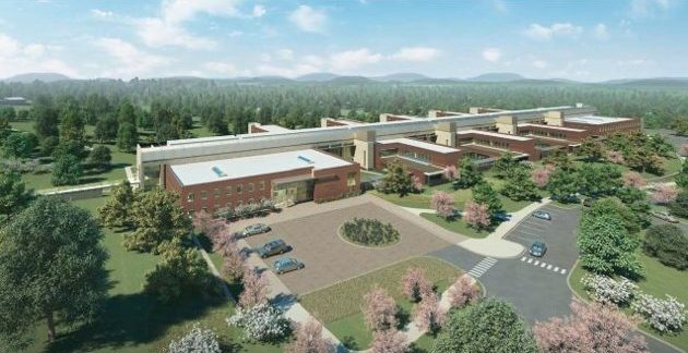 VERTEX Construction Management at New Broughton Hospital, Morgantown, NC 45380