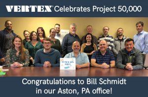 VERTEX Celebrates Project 50,000