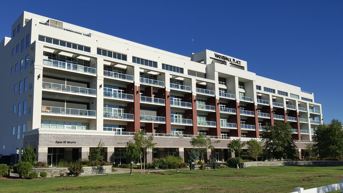 VERTEX, Restoration & Reconstruction Contracting, The WaterWalk Place Condominiums, Wichita, KS 38733