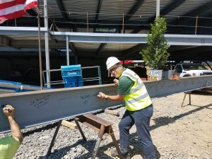 VERTEX Attends Topping Out Ceremony