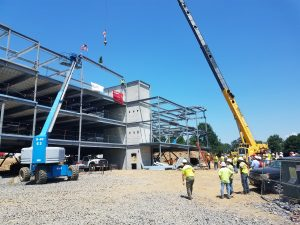 VERTEX Attends Topping Out Ceremony in Chadds Ford, PA on July 11, 2018