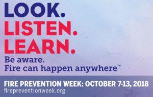 VERTEX, National Fire Prevention Week 2018