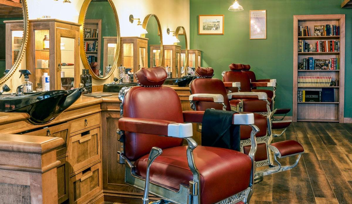 VERTEX Construction, Tenant Improvement, High-End Barber Shop, Wellesley, MA 51378