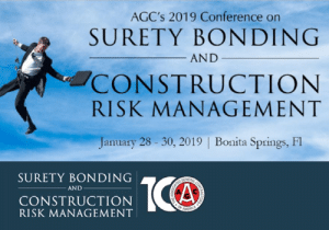 VERTEX CEO, Bill McConnell, to Present at AGC's 2019 Conference on Surety Bonding and Construction Risk Management