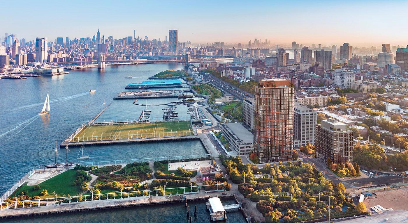 Pier 6 Brooklyn Bridge Park