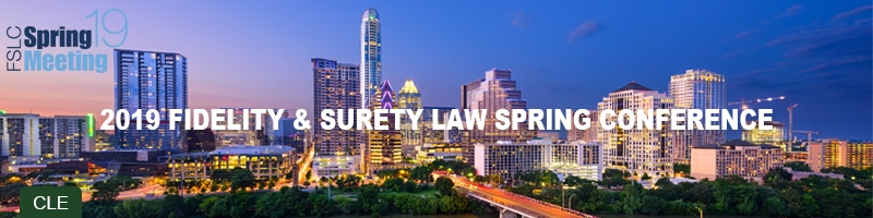 VERTEX Speaking at Fidelity and Surety Law Spring Conference