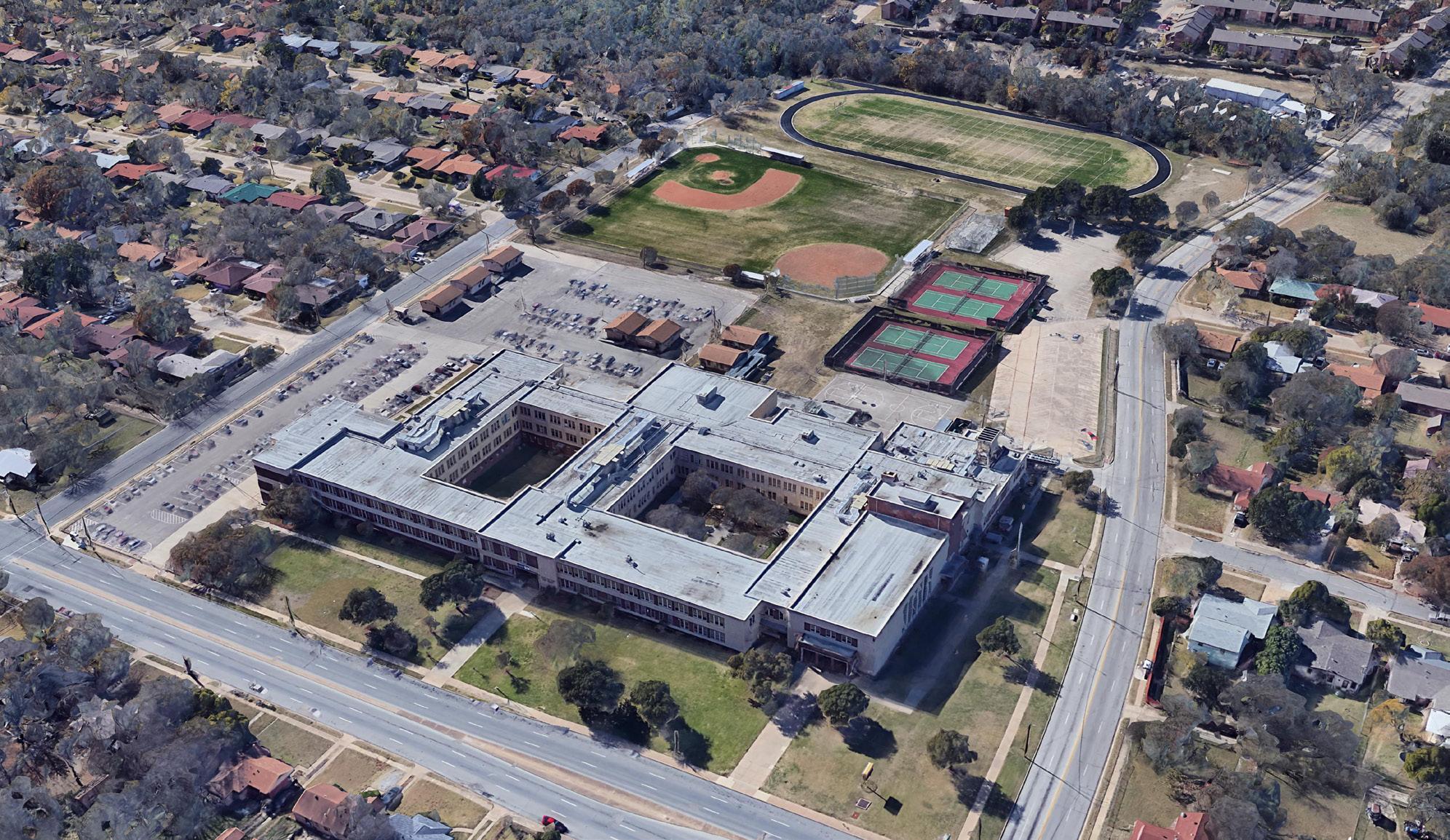 VERTEX Environmental Due Diligence, South Oak Cliff High School, TX, 43800-48405-54386