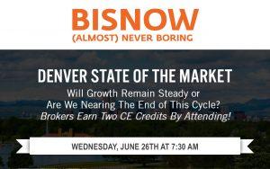 VERTEX Sponsors Bisnow's Denver State of the Market