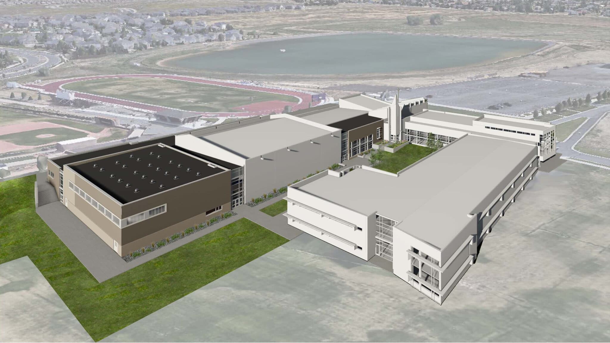 VERTEX Structural Engineering Design, Holy Family High School, Broomfield, CO, 47712