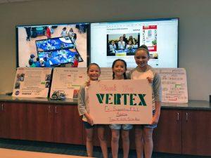 VERTEX Gets Demo of Robotics from 'Sister Bots'