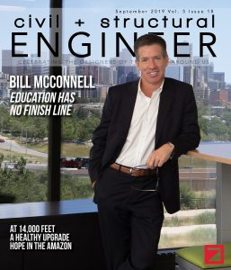 VERTEX's CEO Bill McConnell Featured in Civil + Structural Engineer Magazine