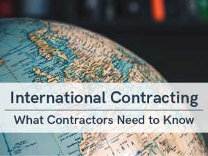 VERTEX, International Contracting - What Contractors Need to Know