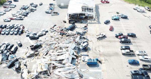 Tornado Damage - Auto Dealerships