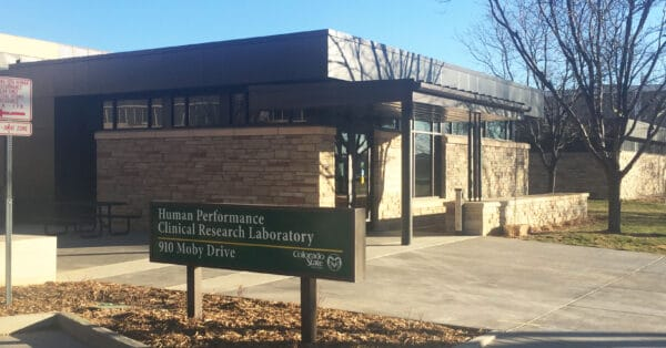 Colorado State University, Human Performance Clinical Research Lab