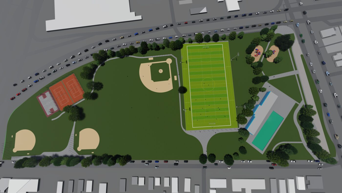 Foss Park Athletic Field