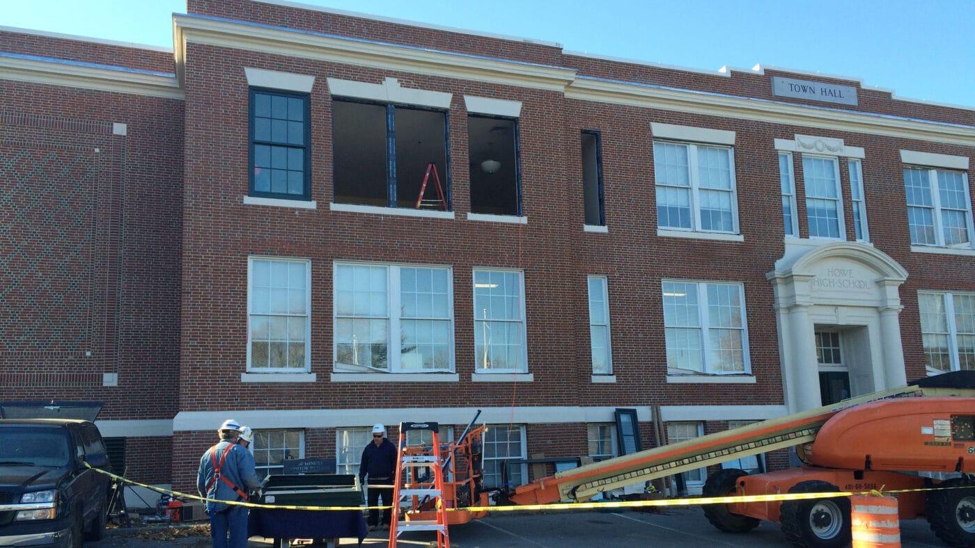 Billerica Town Hall Window Replacement