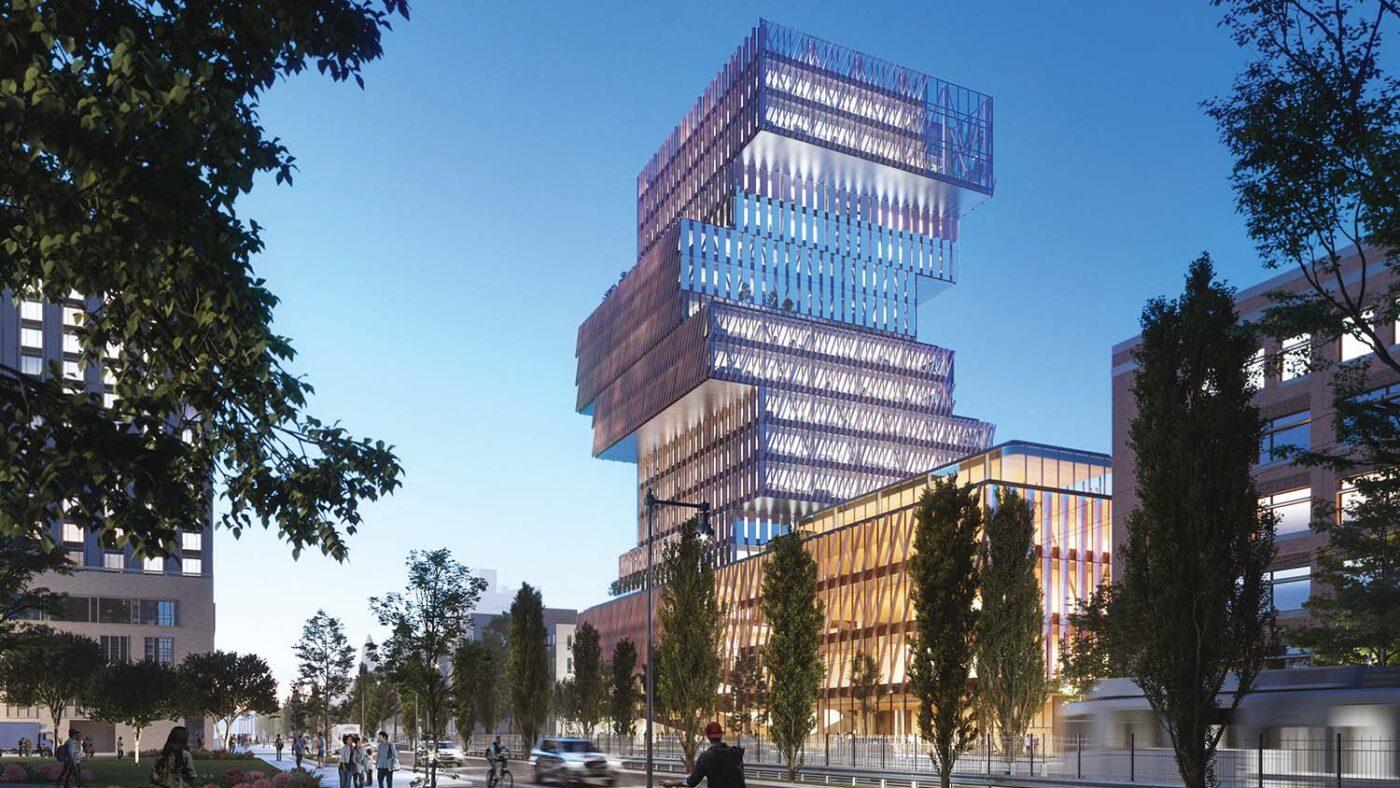 BU Center for Computing & Data Sciences Winner of a 2020 Canadian Architect Award of Merit