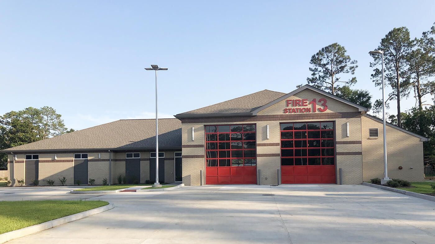 Fire Station and Headquarters Building