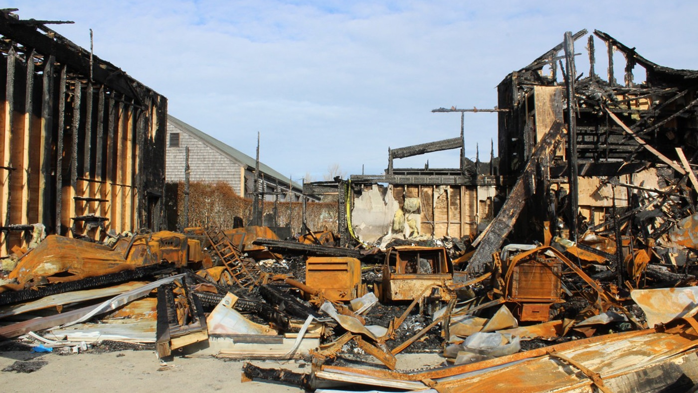 Storage Facility Fire