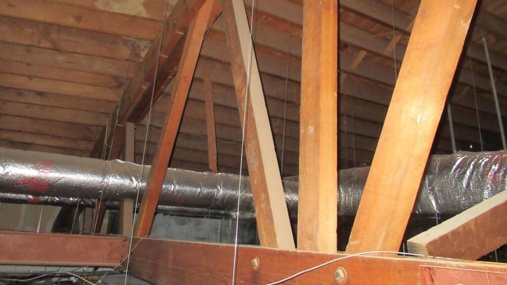 Wooden Bowstring Truss Failure