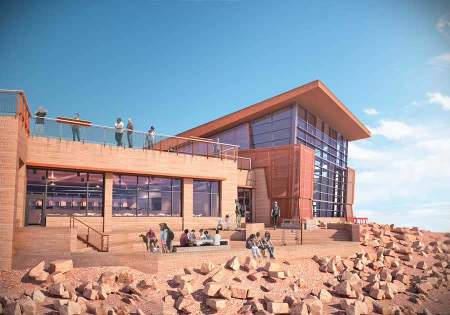 Pike's Peak Visitor Center, CO